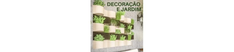 DECORAÇÃO, JARDINAGEM, SEGURANÇA, OUTROS MATERIAIS PARA CASA
